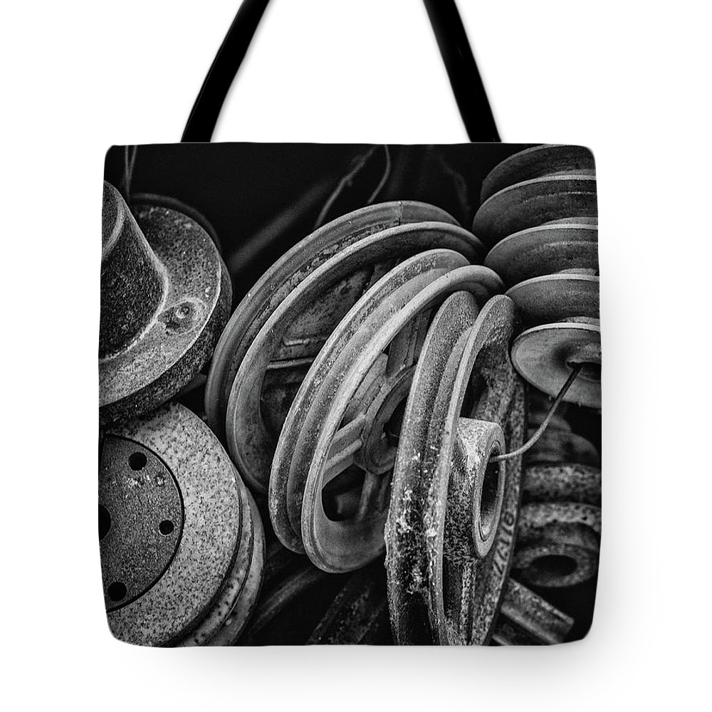 Fine Art Tote Bag featuring the photograph Pulled In Every Direction by Michele James