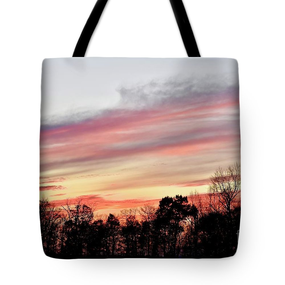 Amazing Sunset Tote Bag featuring the photograph Pure Beauty by Jeramey Lende