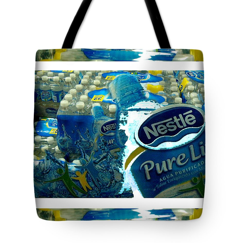 Water Tote Bag featuring the photograph Pure Life by Ze DaLuz