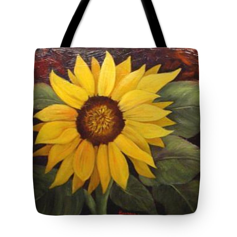 Still Life Tote Bag featuring the painting Pure Sunshine Sold by Susan Dehlinger