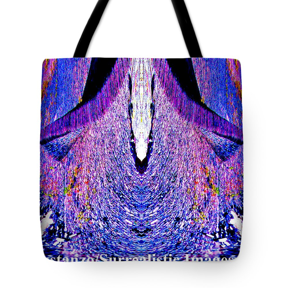 Fine Art Photography Tote Bag featuring the photograph Purple Blast by Nicholas Costanzo