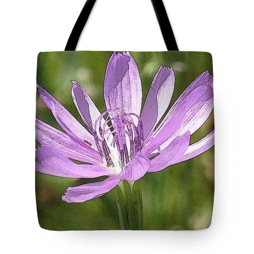 Purple Tote Bag featuring the photograph Purple Days by Amber Stubbs