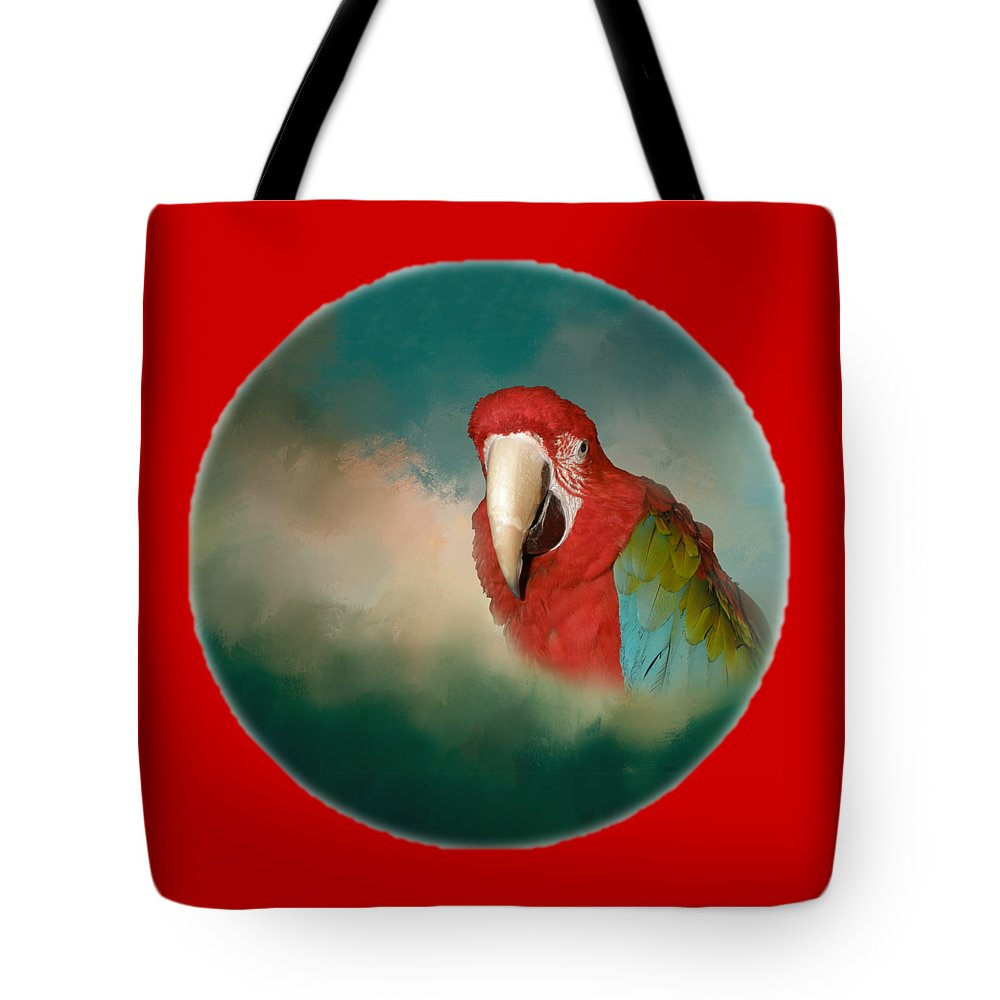 Queen Of Her World Tote Bag featuring the digital art Queen Of Her World by Victoria Harrington