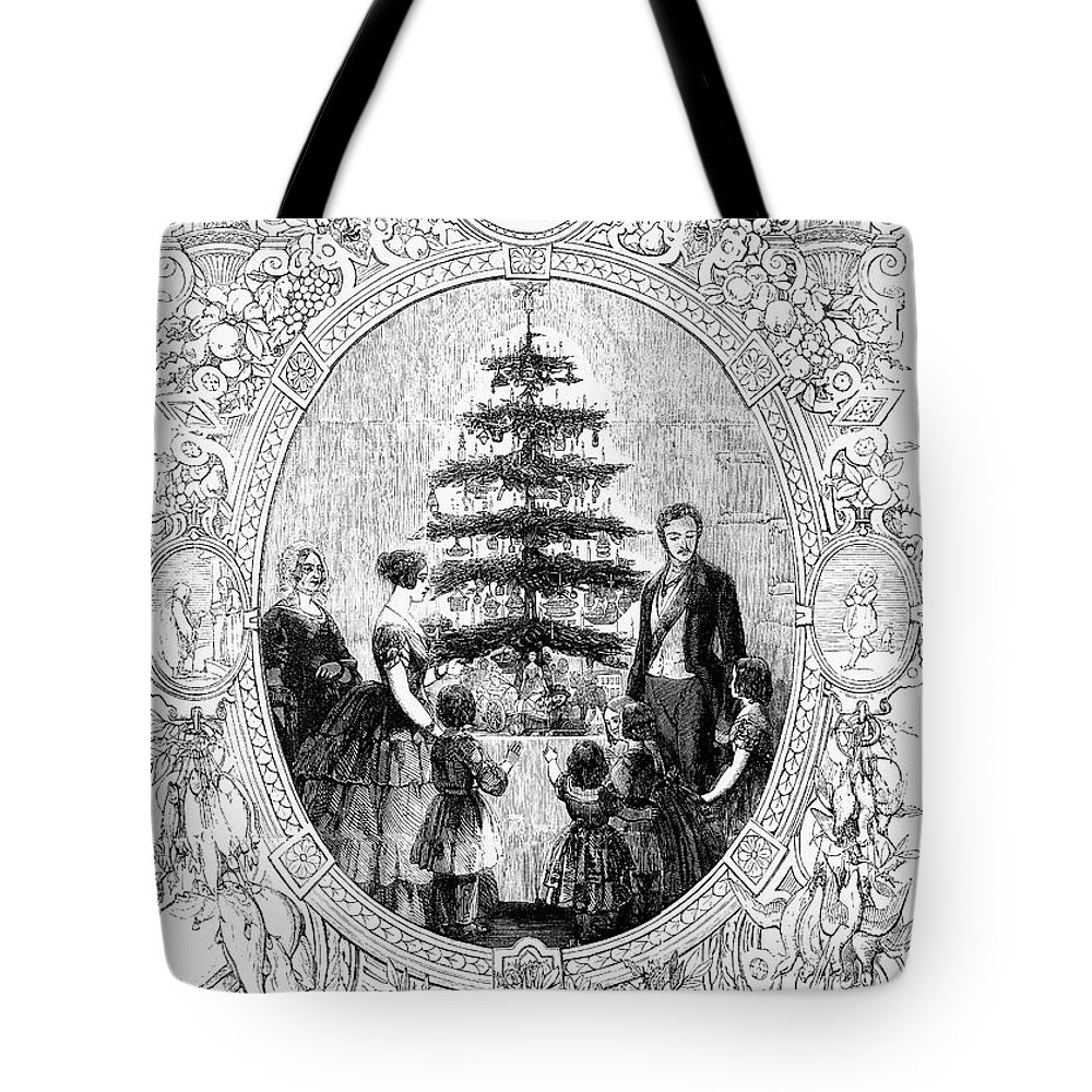 1852 Tote Bag featuring the photograph Queen Victoria, 1852 by Granger