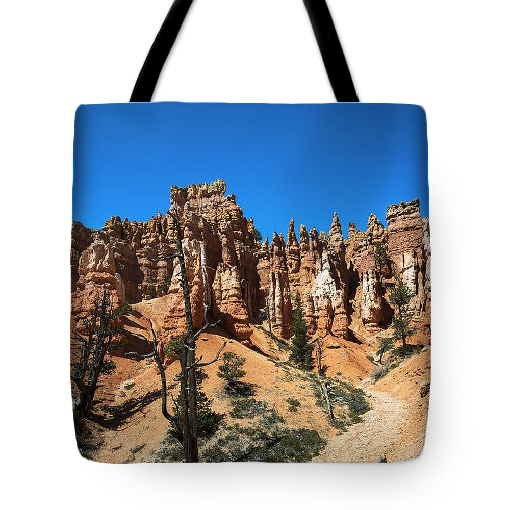 Queens Garden Trail Tote Bag featuring the photograph Queens Garden by Yefim Bam