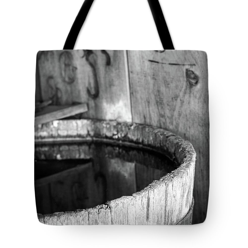 Branding Tote Bag featuring the photograph Quench The Fire by Martina Schneeberg-Chrisien