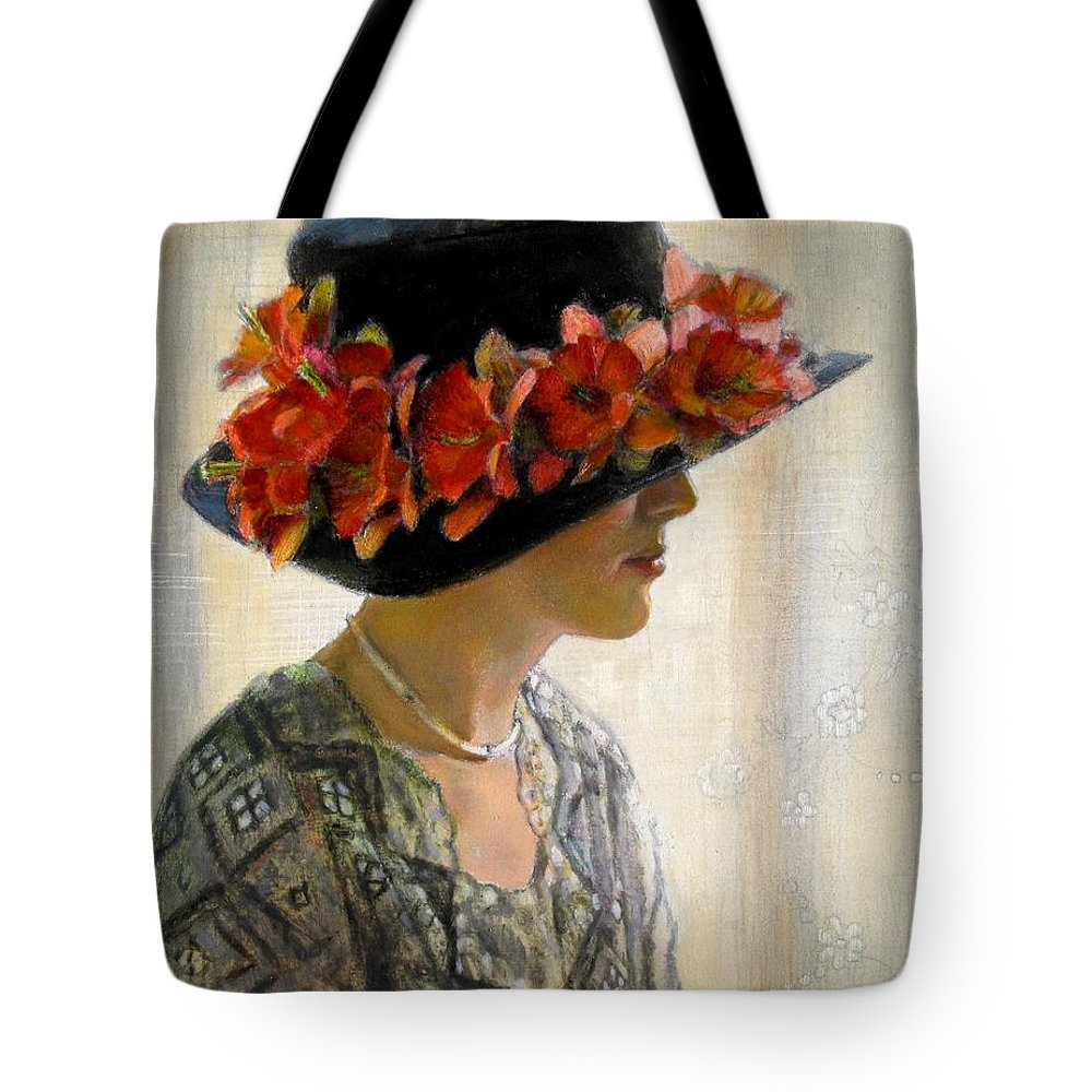 Flowers Tote Bag featuring the painting Quiet Moment by Sue Halstenberg