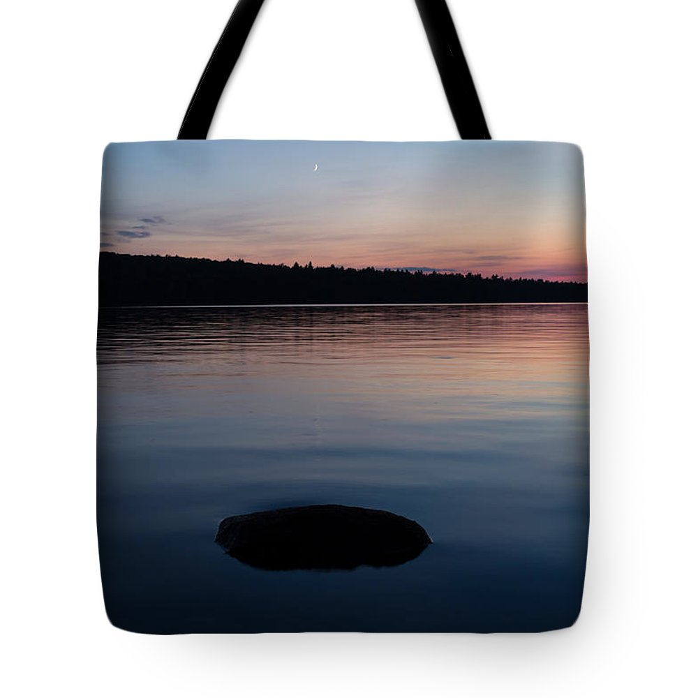 Maine Tote Bag featuring the photograph Quiet Tide by Jeff Kantorowski