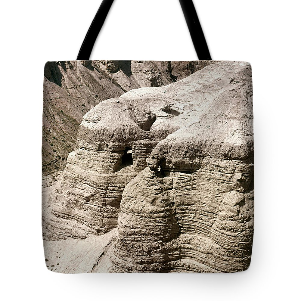 Ancient Tote Bag featuring the photograph Qumran: Dead Seal Scrolls by Granger