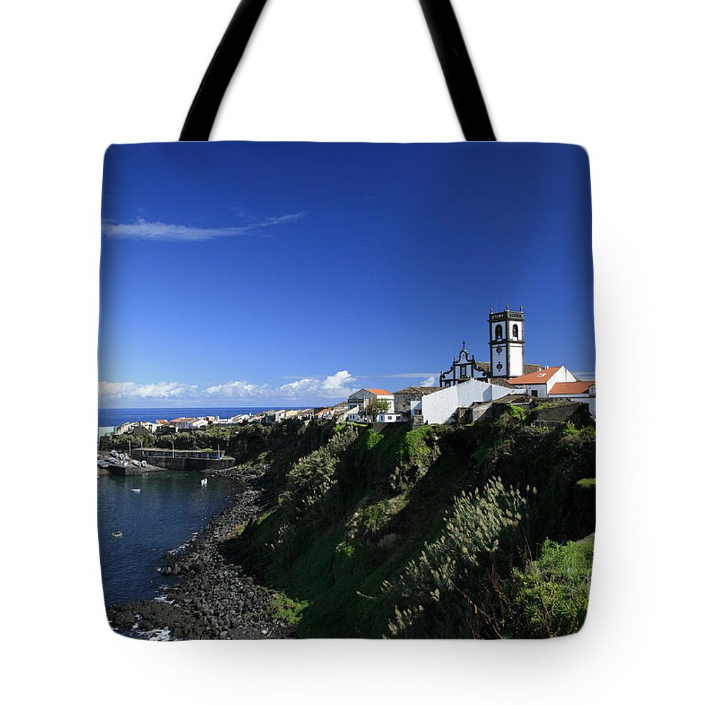 Azores Tote Bag featuring the photograph Rabo De Peixe by Gaspar Avila