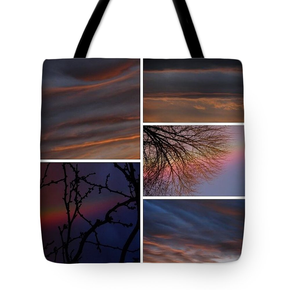 Tote Bag featuring the photograph Racing Digital Thoughts, V. IIi by Chris Dunn