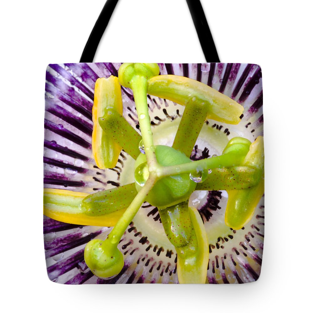 Passion Tote Bag featuring the photograph Radial Arms by Christopher Holmes
