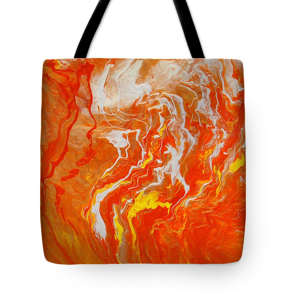 Fusionart Tote Bag featuring the painting Radiance by Ralph White
