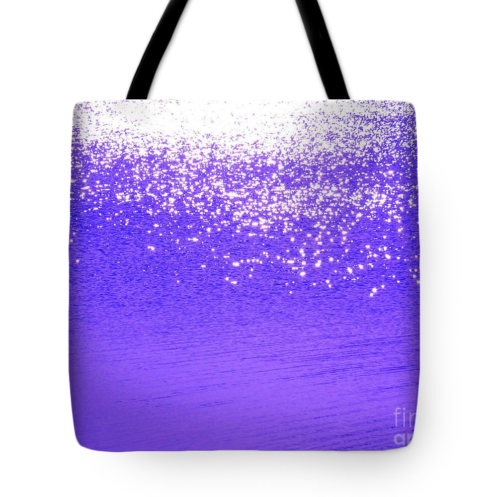 Abstract Tote Bag featuring the photograph Radiance by Sybil Staples