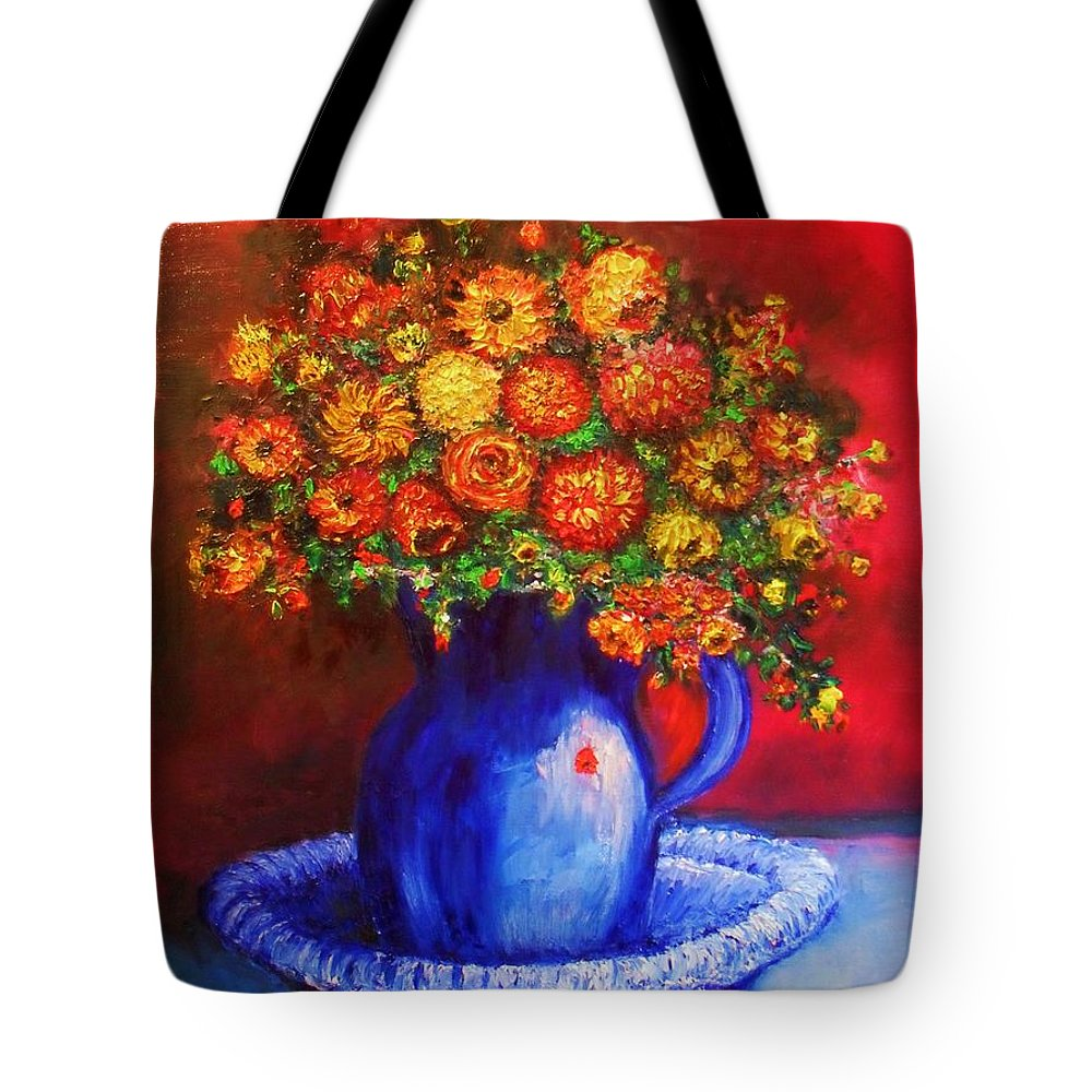 Flowers Tote Bag featuring the photograph Rags by Laurie Lundquist
