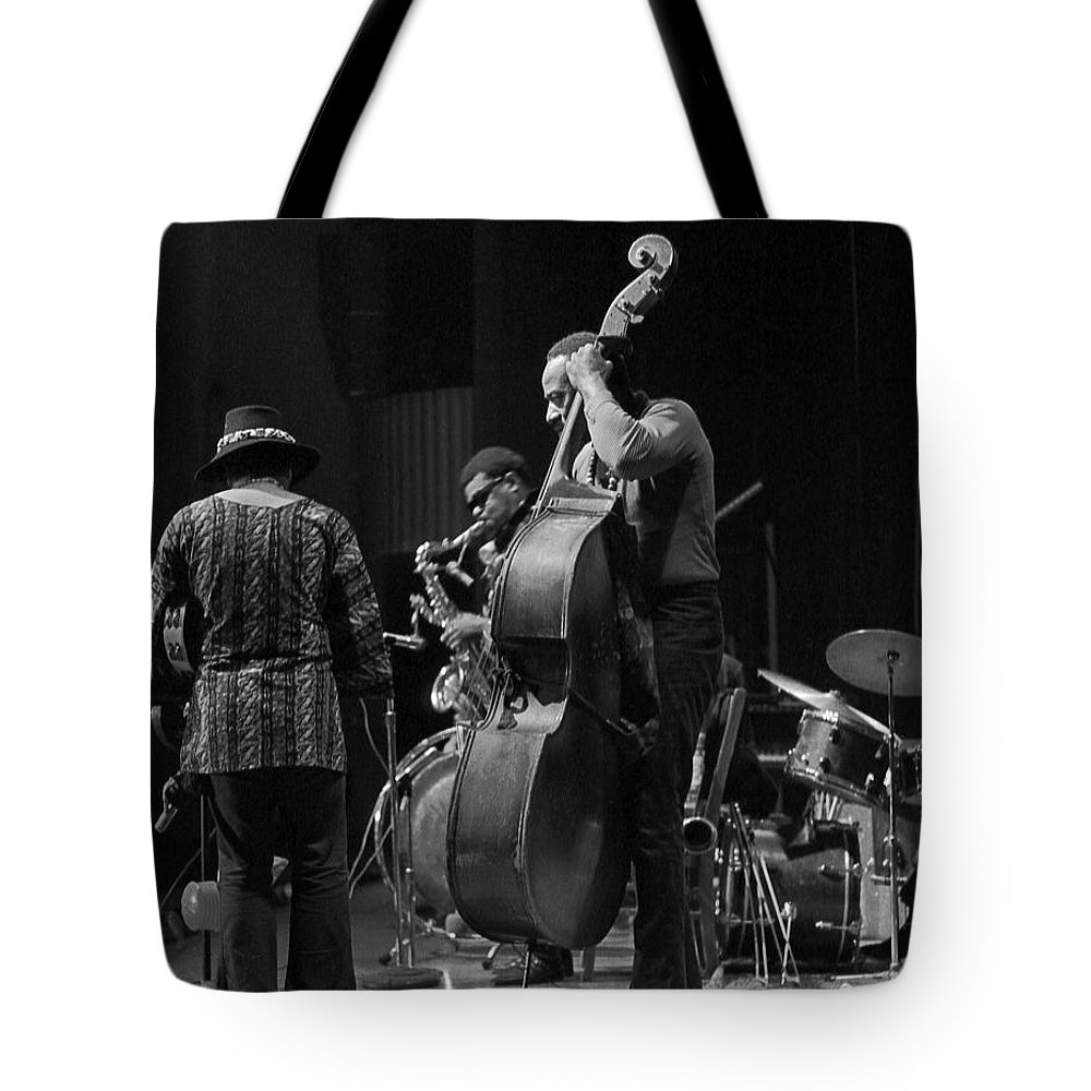Rahsaan Roland Kirk Tote Bag featuring the photograph Rahsaan Roland Kirk 2 by Lee Santa