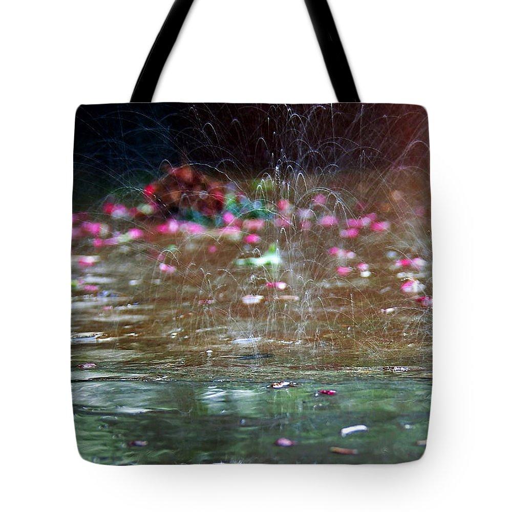 Rain Tote Bag featuring the photograph Rain Dance by Kevin Myron