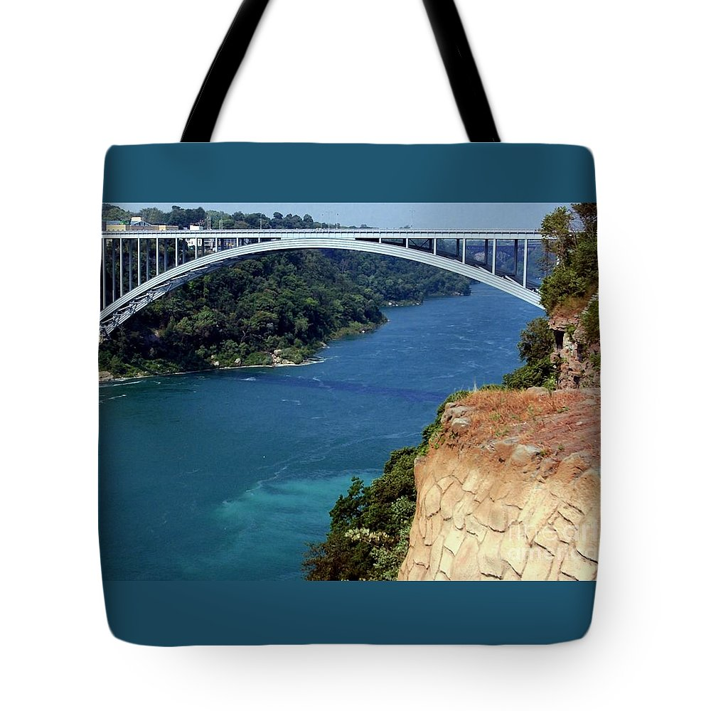 Rainbow Tote Bag featuring the photograph Rainbow Bridge by Kathleen Struckle