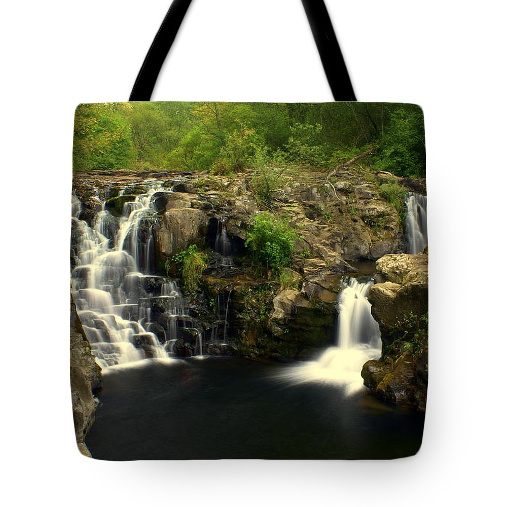 Tote Bag featuring the photograph Rainbow Falls 2 by Marty Koch