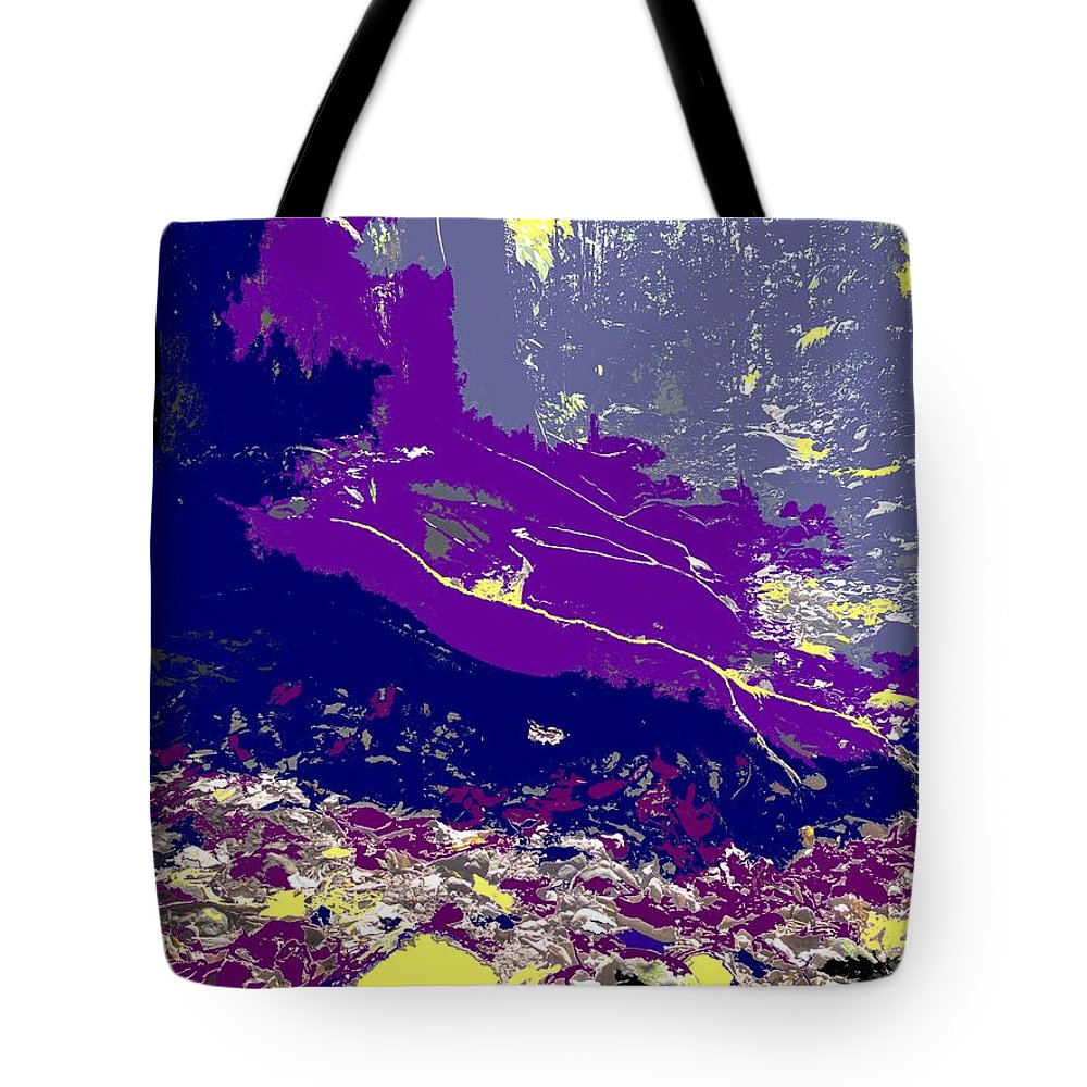 Rainforest Tote Bag featuring the photograph Rainforest Shadows by Ian MacDonald