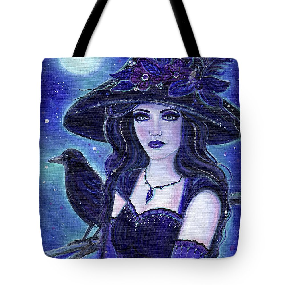 Witch Tote Bags