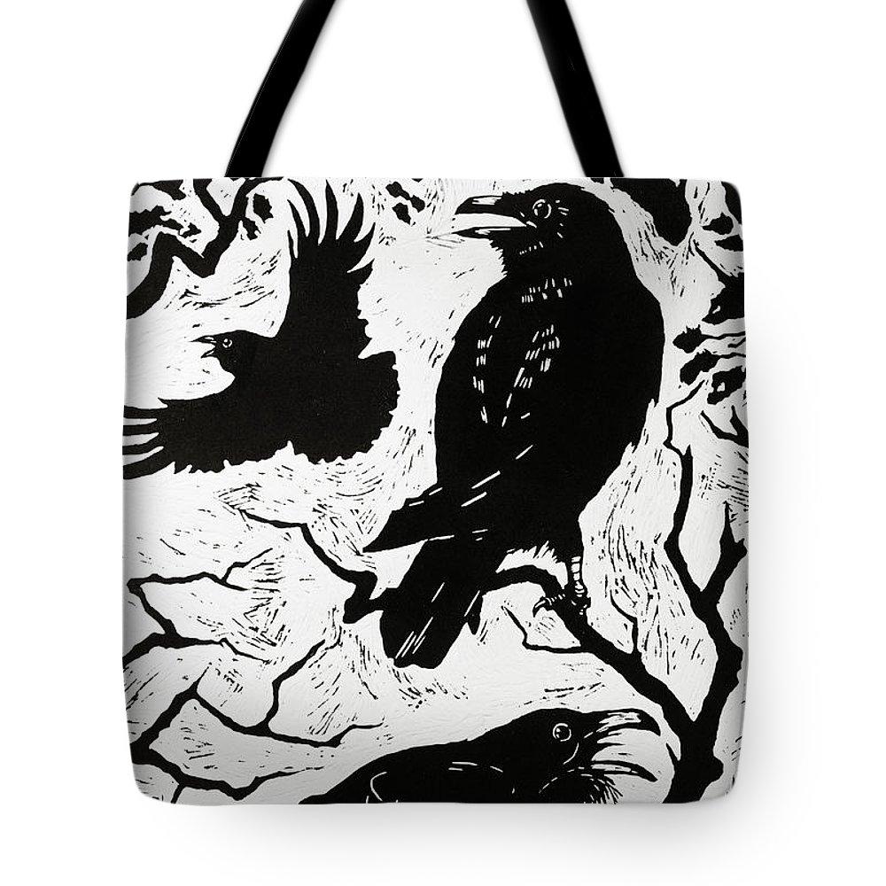 Raven Tote Bags