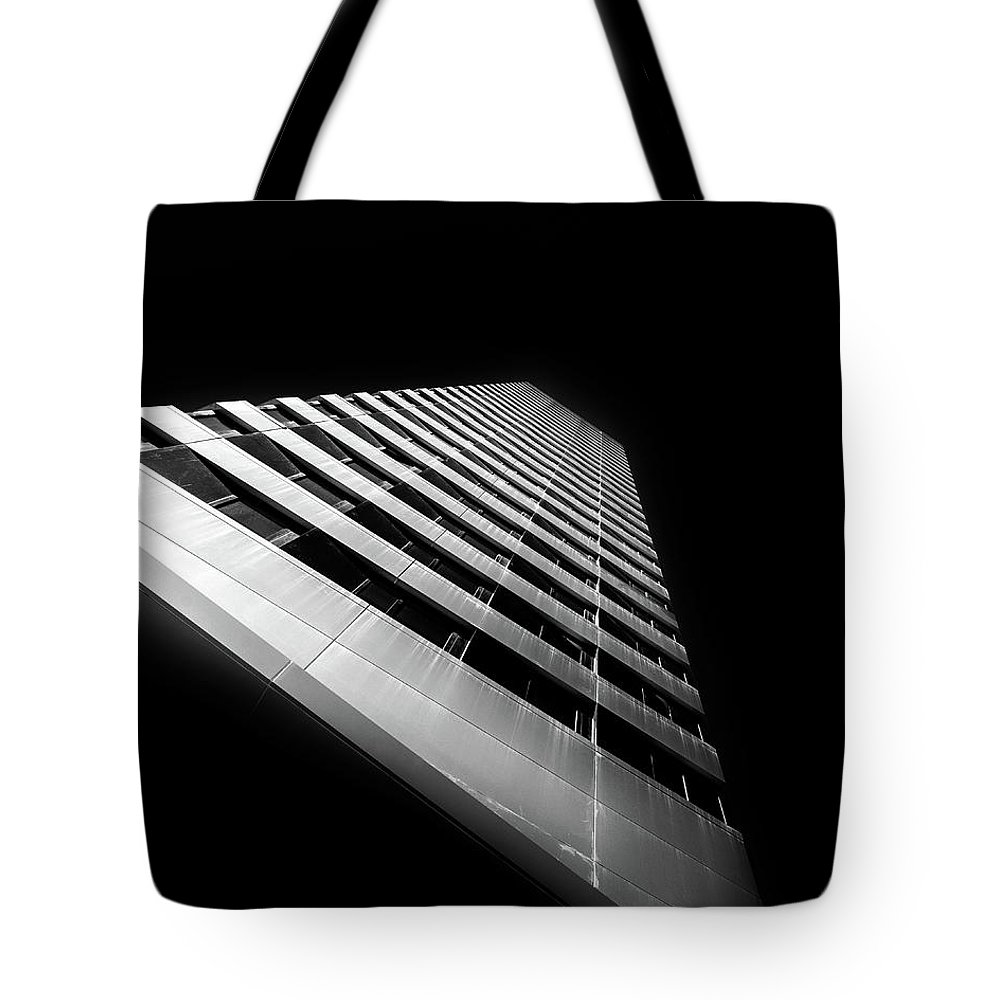Cornell Tech Tote Bag featuring the photograph Reach For The Sky by Jason Little