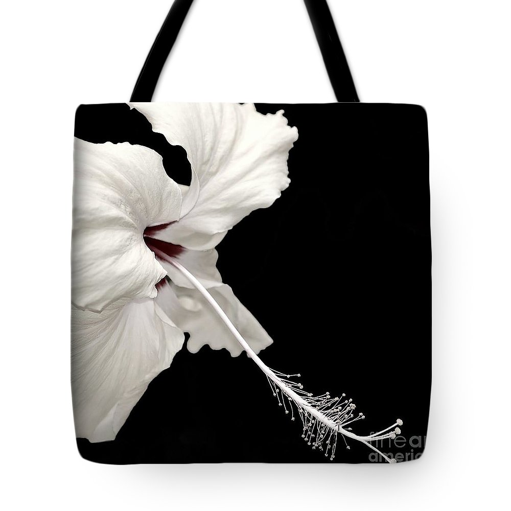 Flower Tote Bag featuring the photograph Reach Out by Jacky Gerritsen