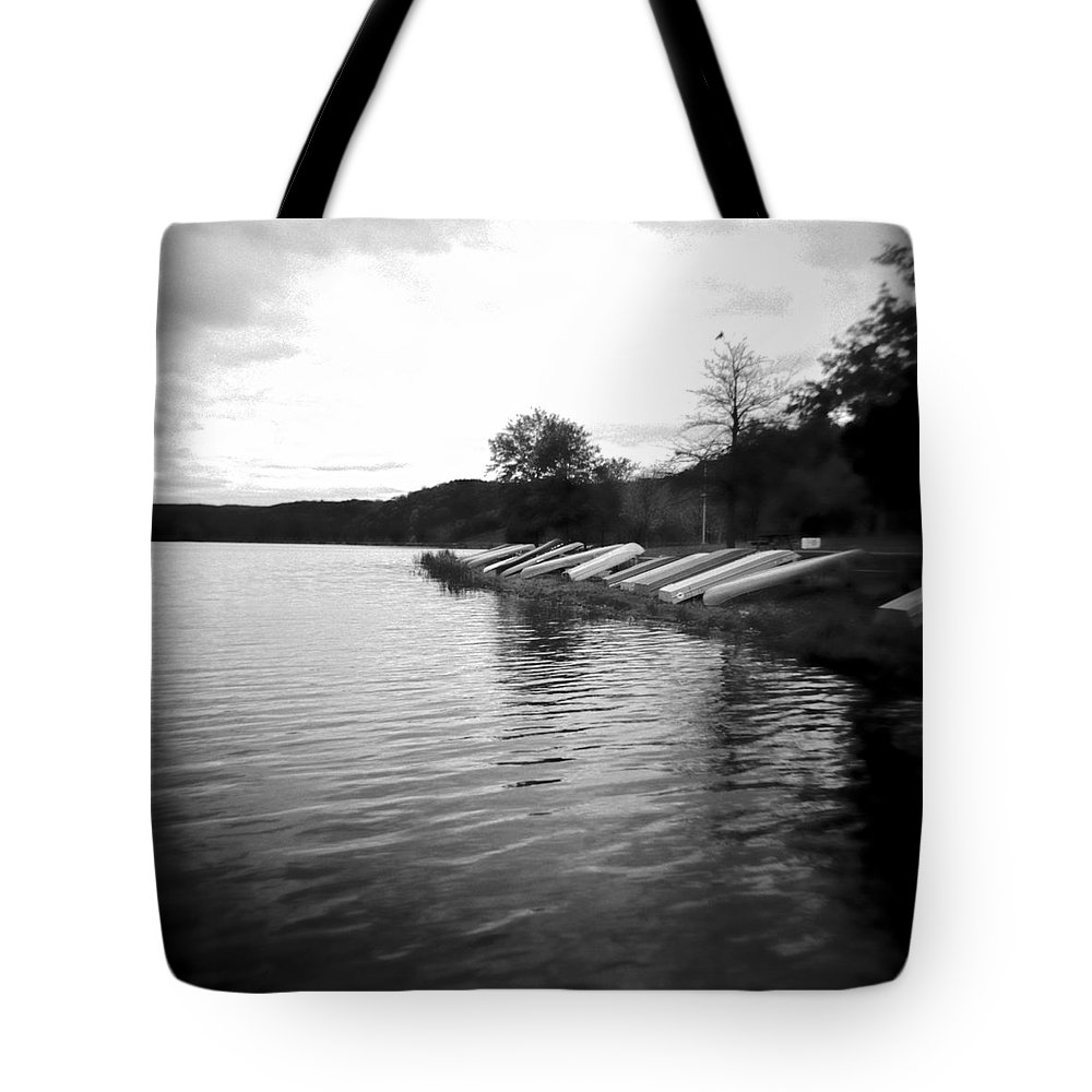 Photograph Tote Bag featuring the photograph Ready And Waiting by Jean Macaluso