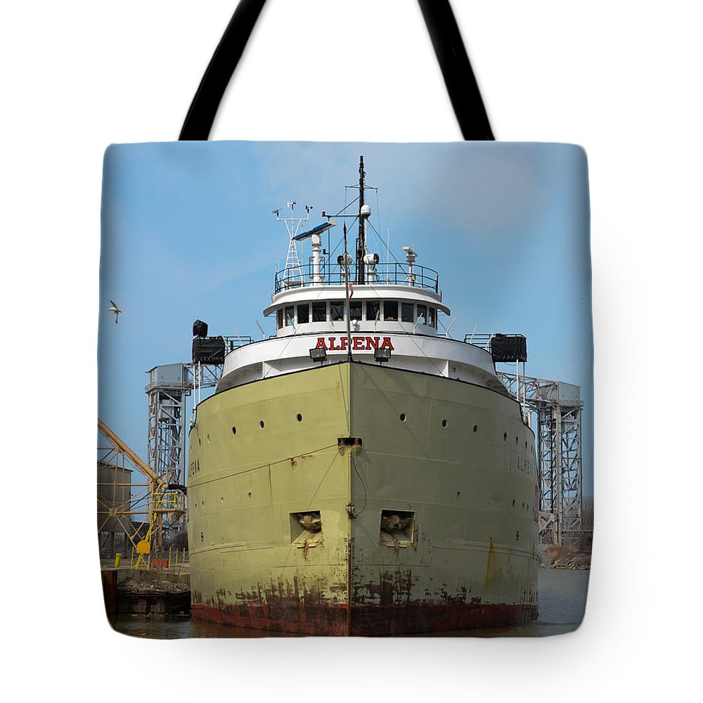 Christopher List Tote Bag featuring the photograph Ready To Sail by Gales Of November