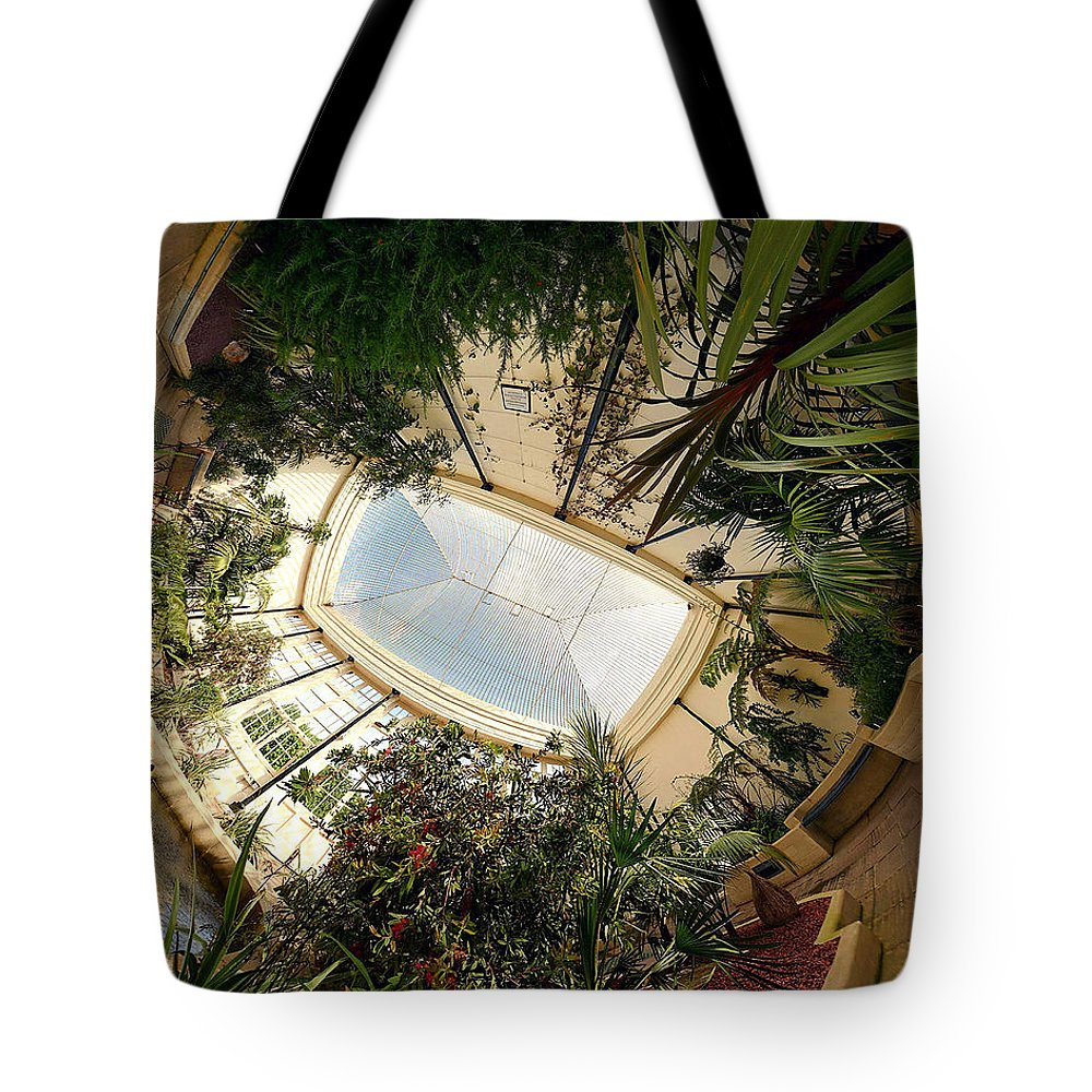 Real World Tote Bag featuring the digital art Real World by Maye Loeser