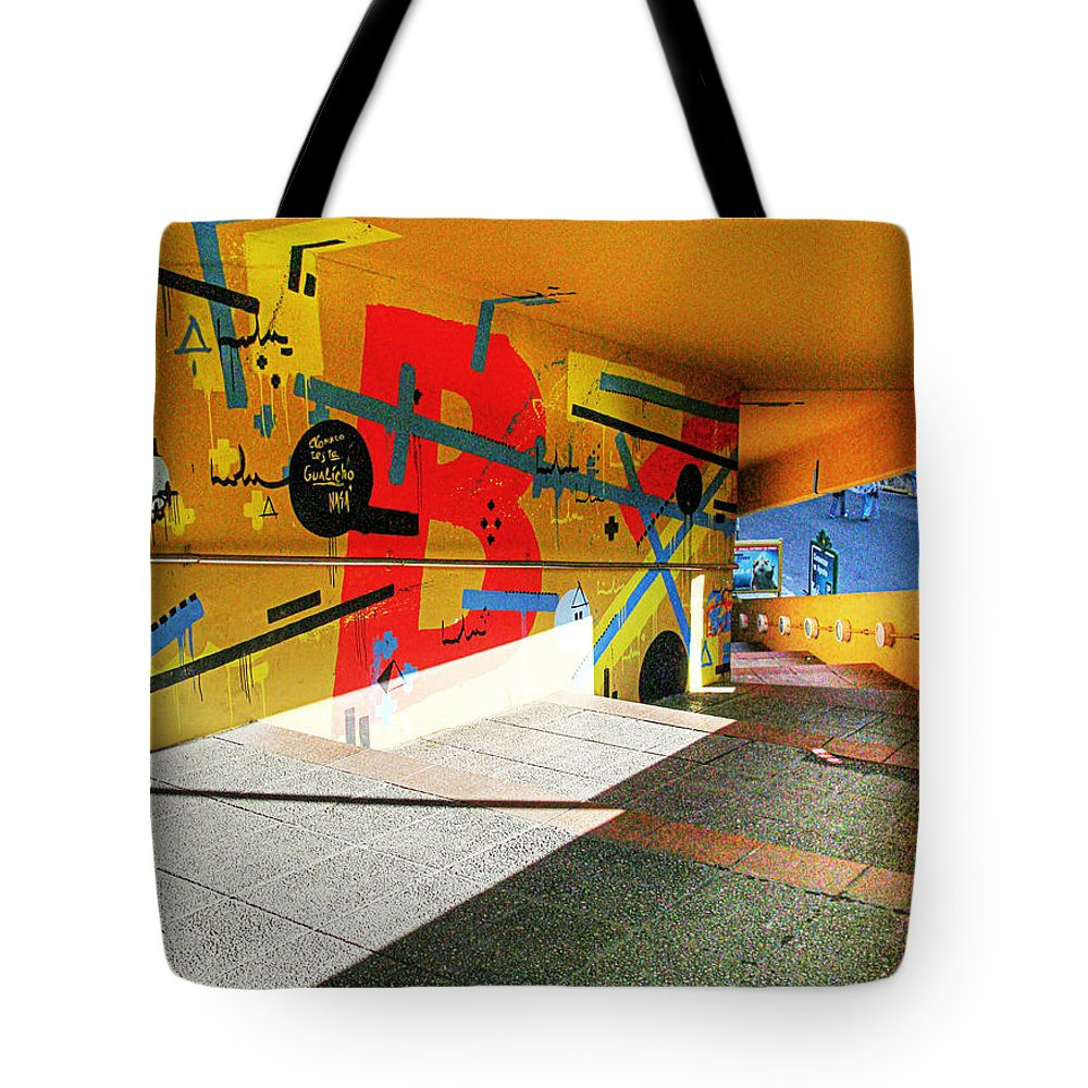 Tunnel Tote Bag featuring the photograph Recoleta Tunnel by Francisco Colon