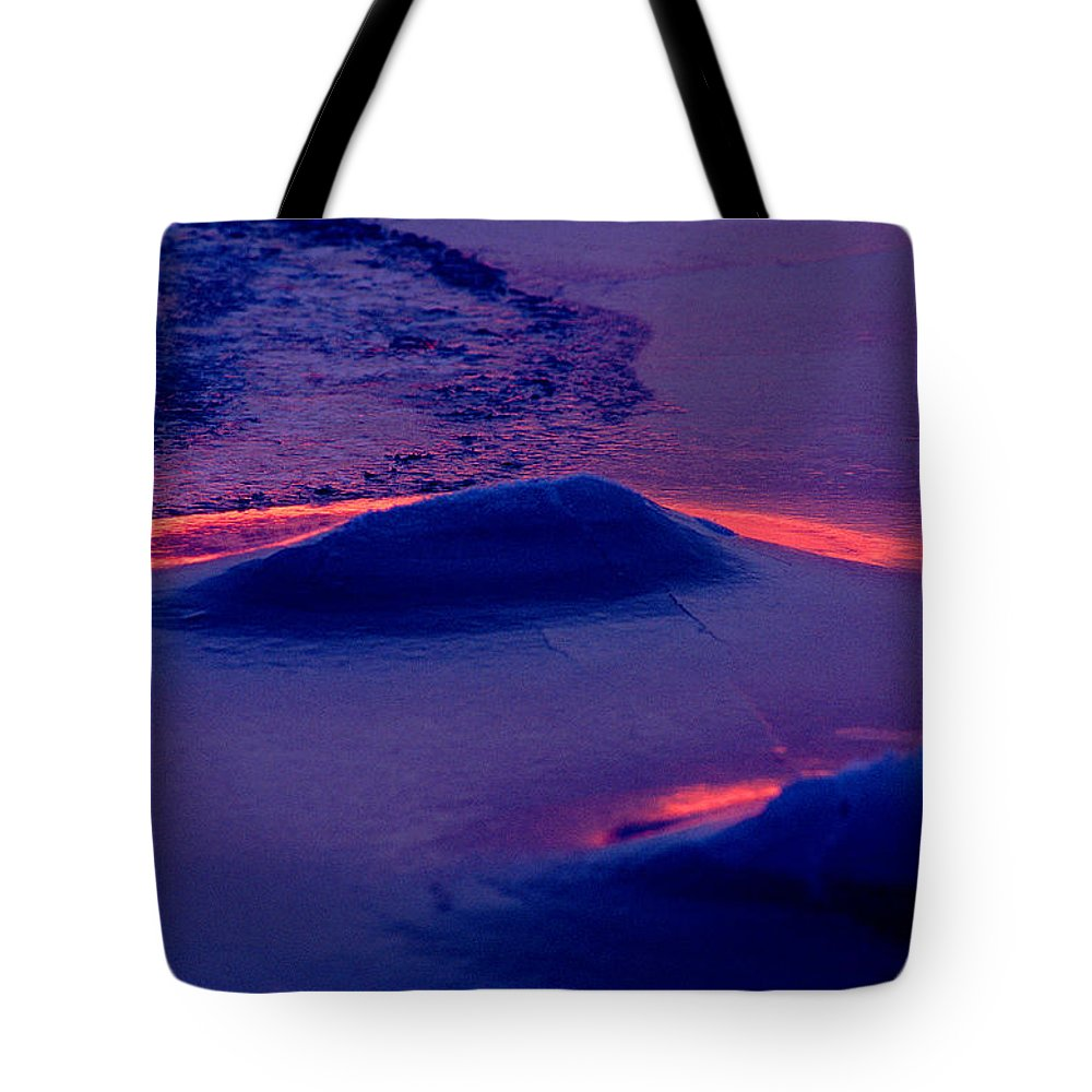 Sunset Tote Bag featuring the photograph Red Alert by Michael Mogensen