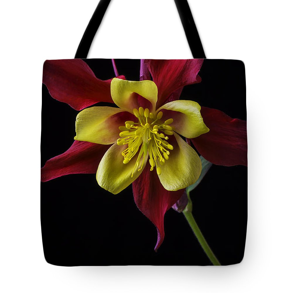 Red And Yellow Columbine Flower Tote Bag For Sale By Garry Gay