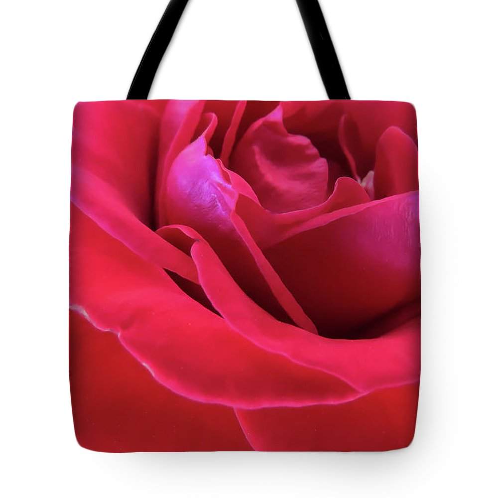 Rose Tote Bag featuring the photograph Red Beauty by Zina Stromberg
