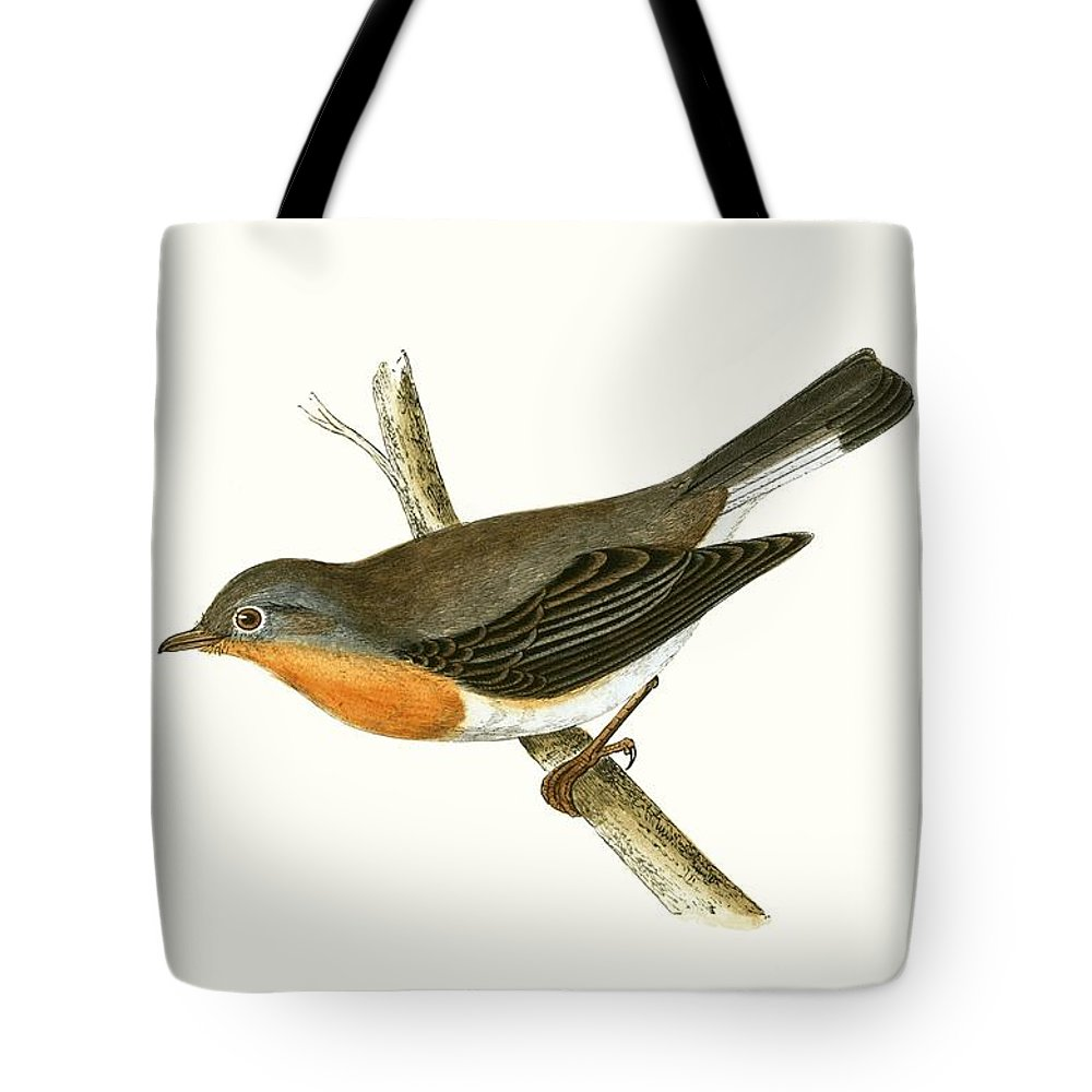 Flycatcher Tote Bags