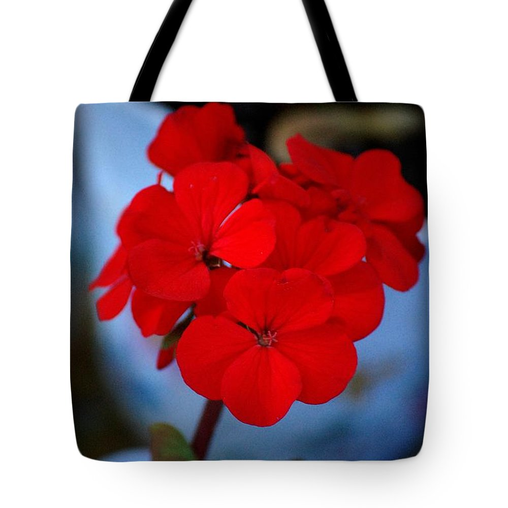 Tote Bag featuring the photograph Red Menace by David Lane