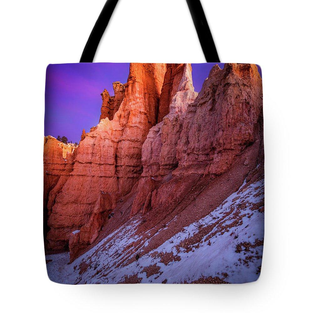 Bald Mountain Photographs Tote Bags