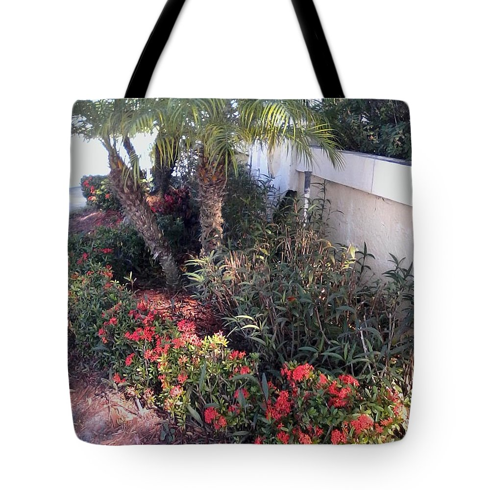 Tote Bag featuring the painting Red Psl by Dutch MARCHING