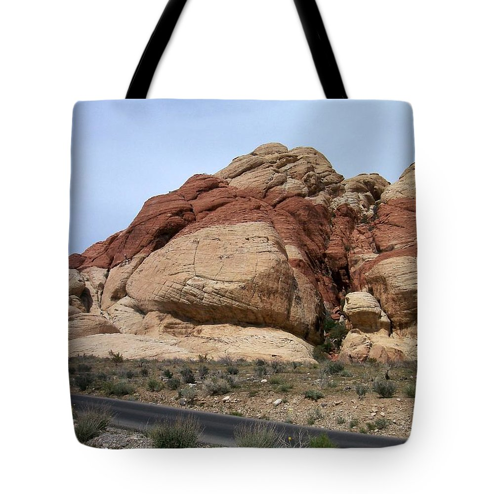 Red Rock Canyon Tote Bag featuring the photograph Red Rock Canyon 2 by Anita Burgermeister