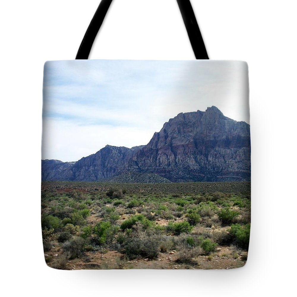 Red Rock Canyon Tote Bag featuring the photograph Red Rock Canyon 3 by Anita Burgermeister
