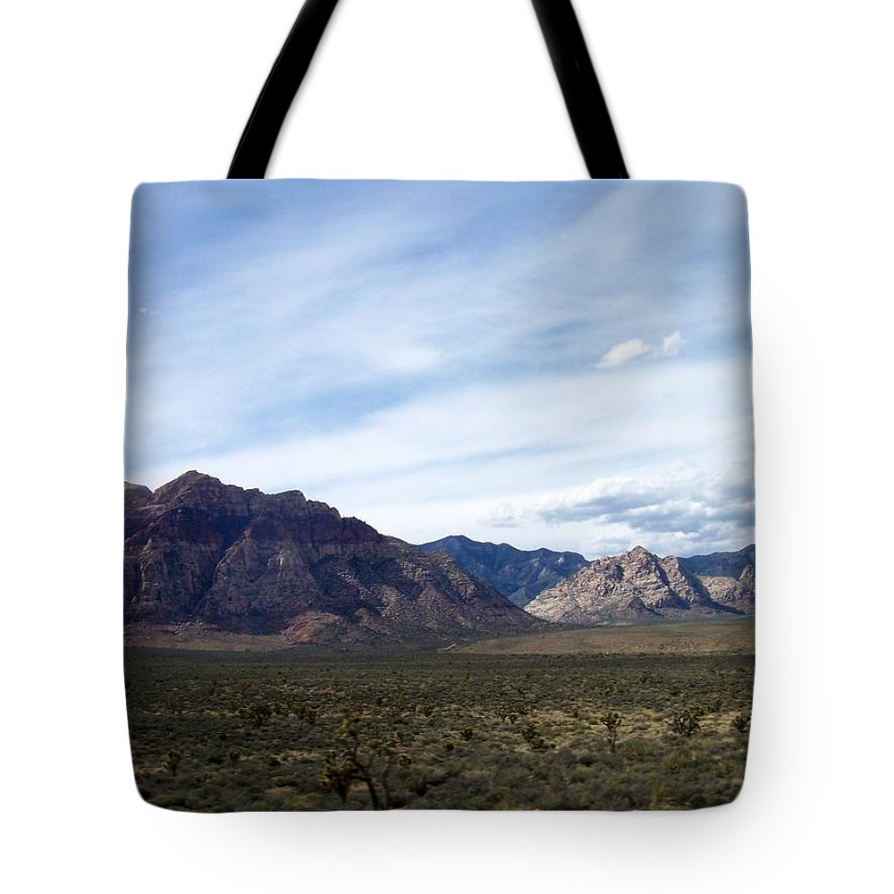 Red Rock Canyon Tote Bag featuring the photograph Red Rock Canyon 4 by Anita Burgermeister