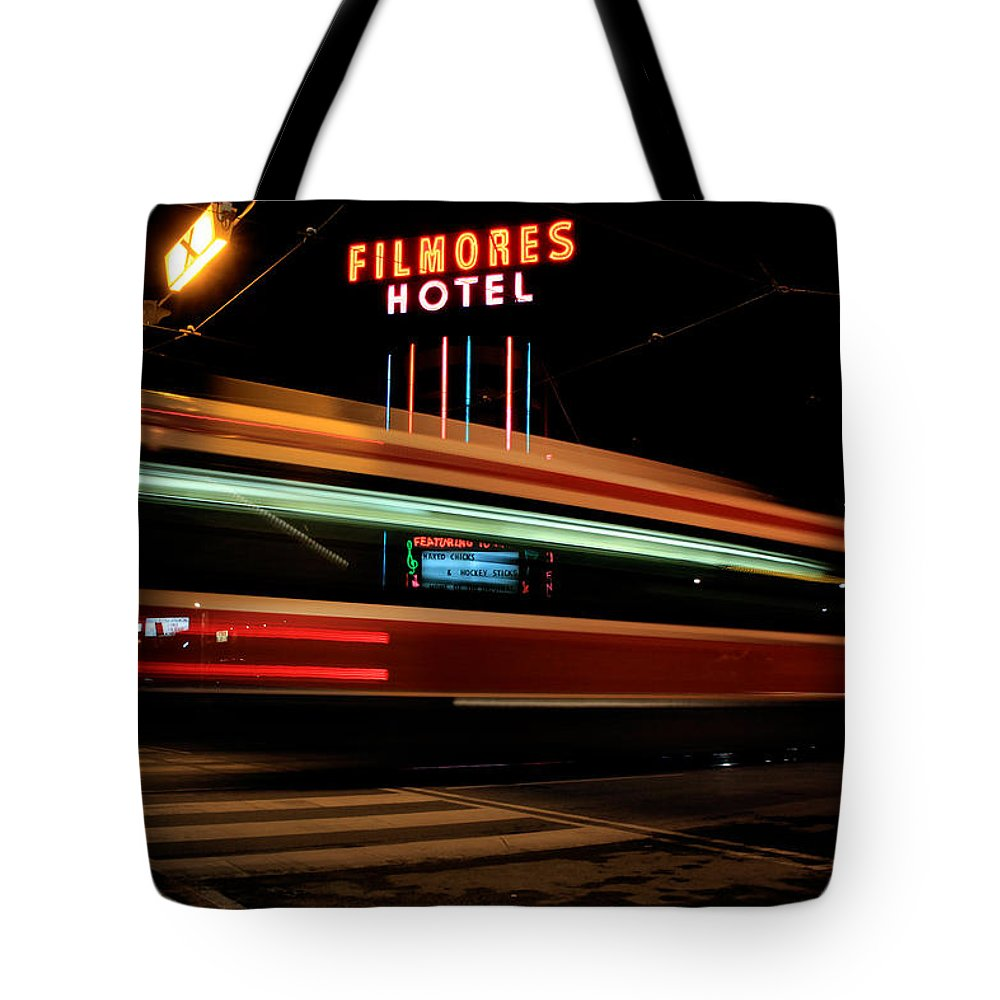 Toronto Tote Bag featuring the photograph Red Rocket 7 by Andrew Fare
