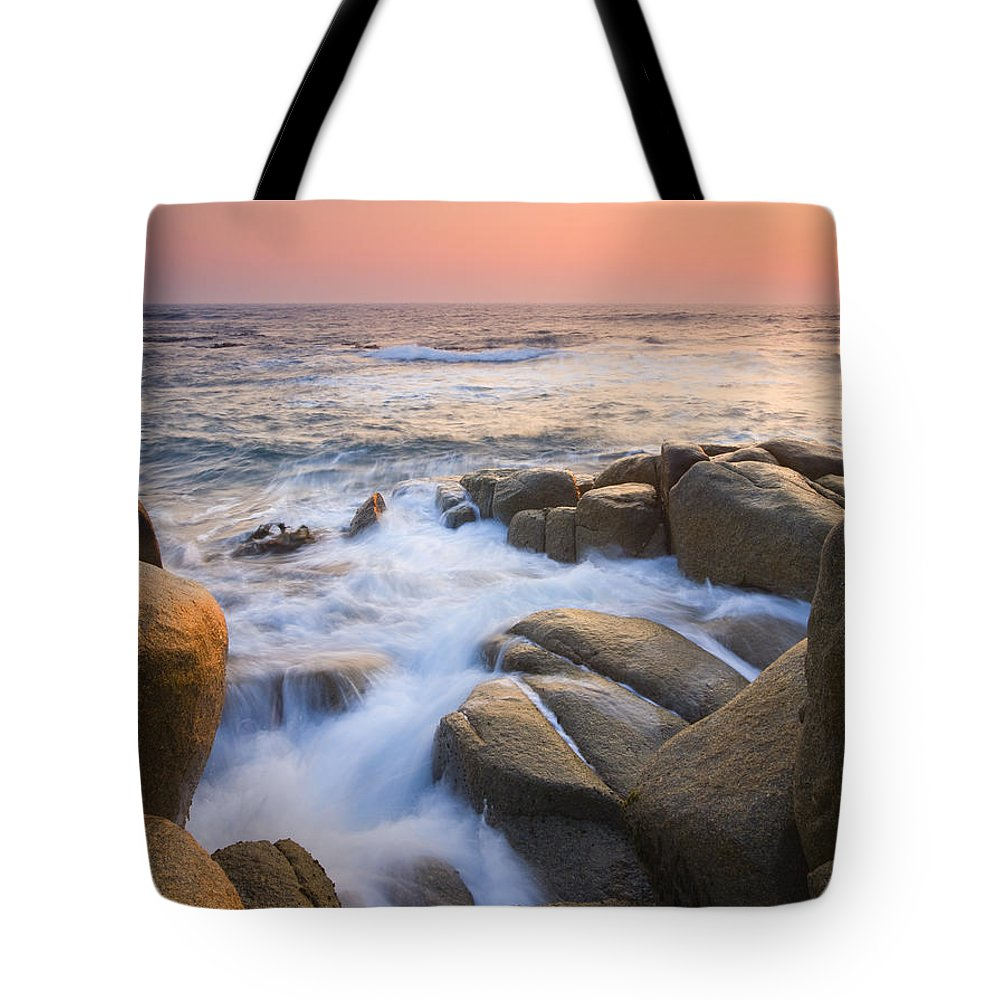 Sunrise Tote Bag featuring the photograph Red Sky At Morning by Mike Dawson