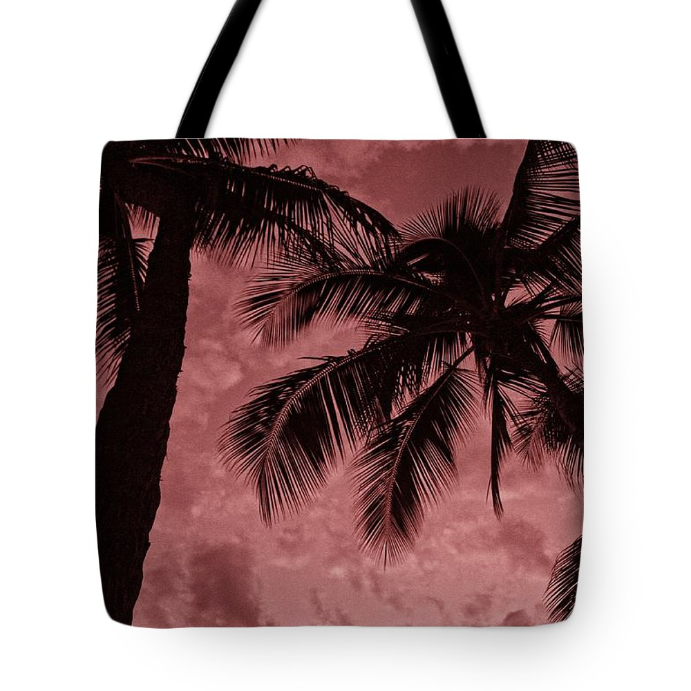 Sunset Tote Bag featuring the photograph Red Sky by Nick Difi