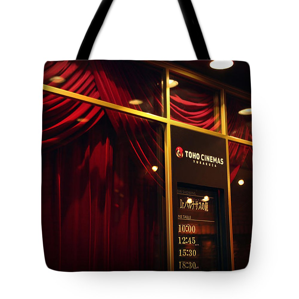 Red Tote Bag featuring the photograph Red Velvet by Eena Bo