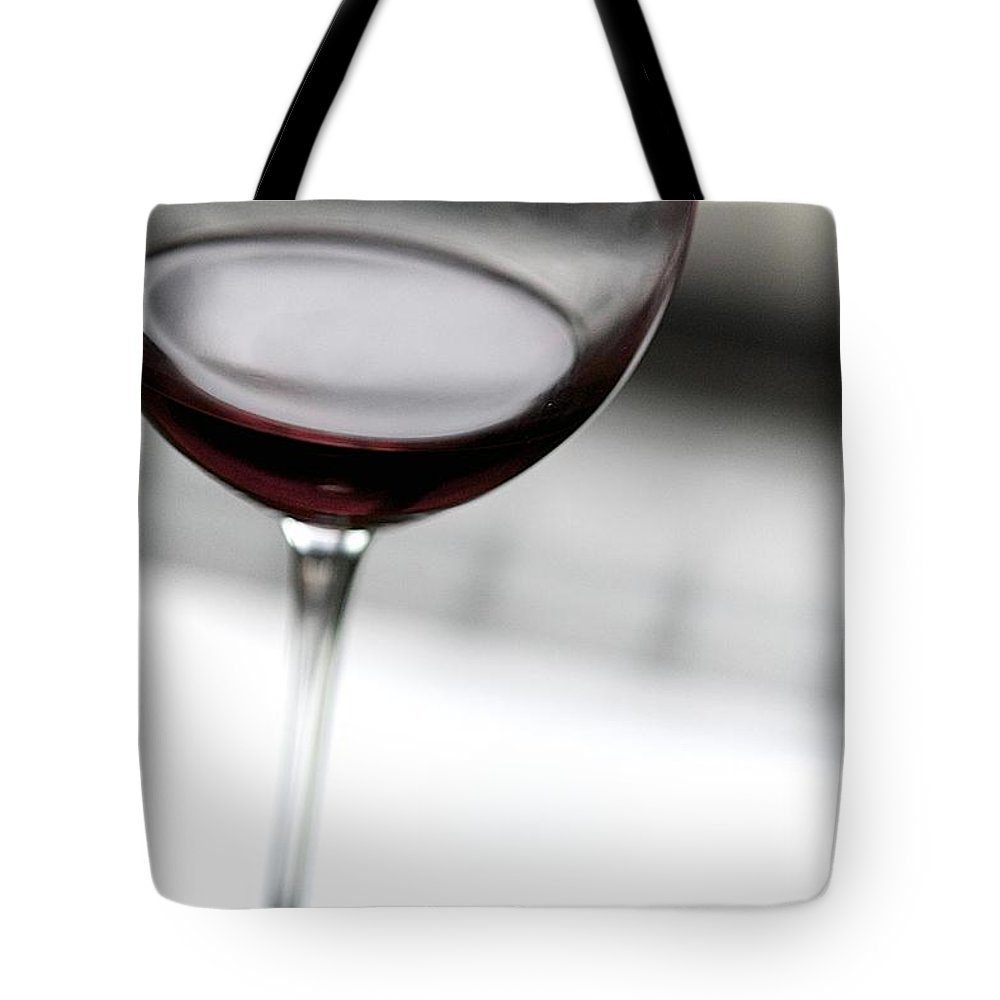 Wine Tote Bag featuring the photograph Red Wine by Robert Skuja