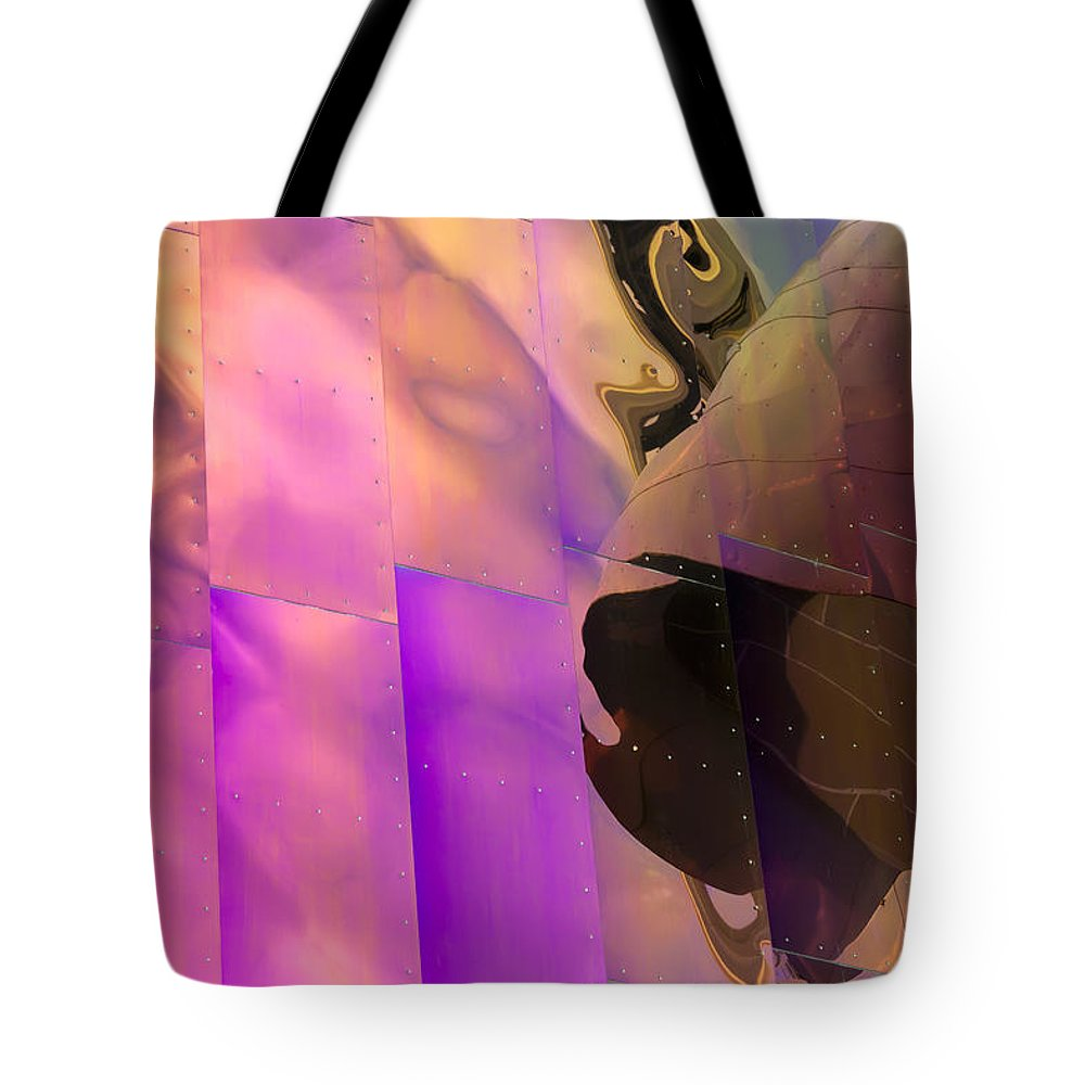 Emp Tote Bag featuring the photograph Reflecting Emp by Janet Fikar