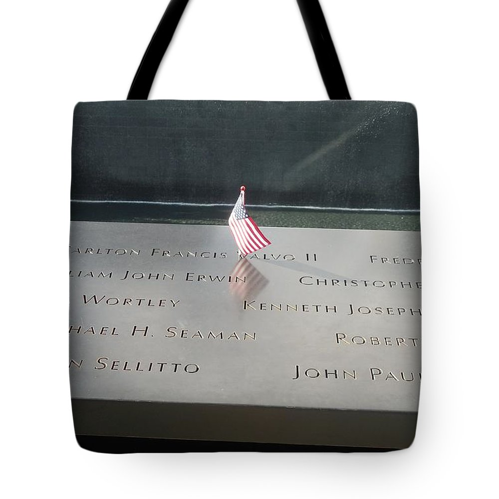 911 Tote Bag featuring the photograph Reflecting Pool by Mike Niday