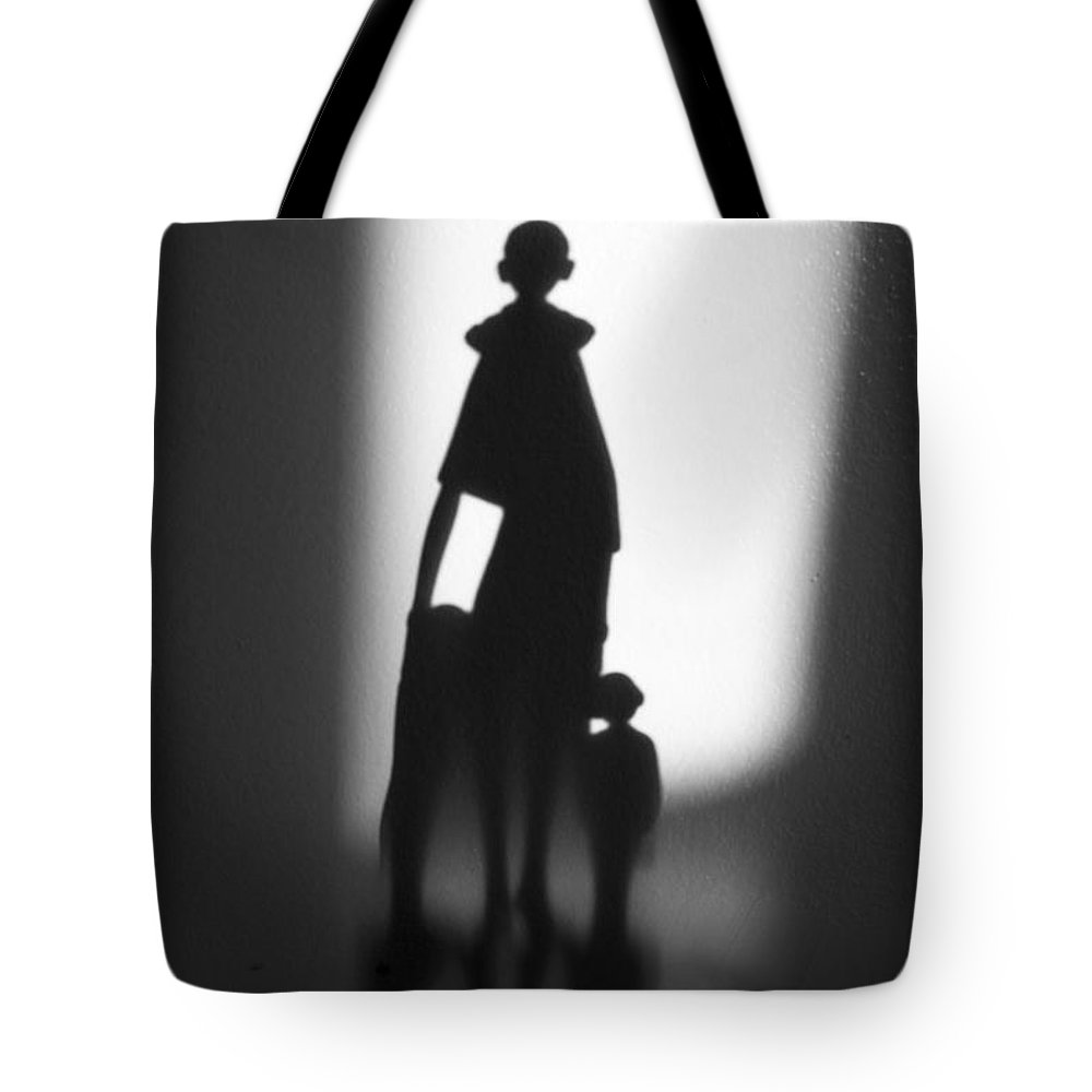 Family Tote Bag featuring the photograph Reflection by Candalis Escudero